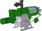 Шнековый сепаратор для навоза