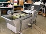 Щеточная моечная машина для овощей и фруктов